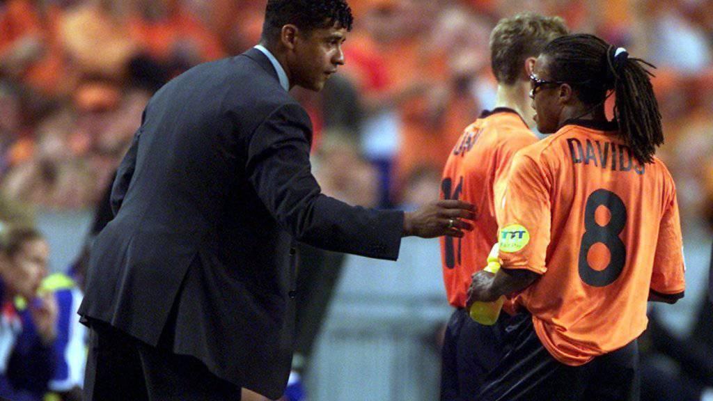 Als Spieler mit den Niederlanden erfolgreicher als als Trainer: Frank Rijkaard (links)