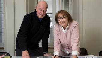 An vorderster Front wieder dabei: Ruth Blum (r.) und Hans Sturm. (Archiv)