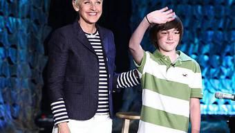 Ellen DeGeneres ist begeistert von Greyson Chance