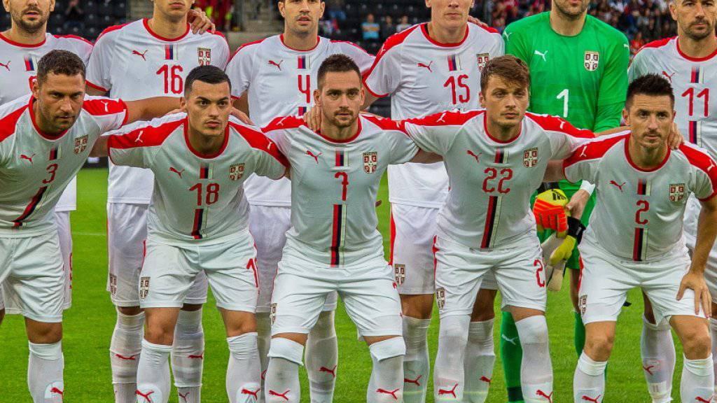 Serbien kehrt nach acht Jahren Absenz auf die grosse Fussballbühne zurück