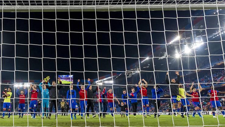Die Basler freuen sich über eine erfolgreiche Europa-League-Kampagne