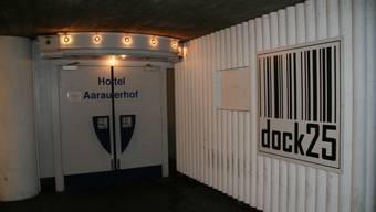 Ende einer Ära: Das Nachtlokal des Hotels Aarauerhof (heute «dock 25») schliesst Ende 2009. (Marcel Siegrist)