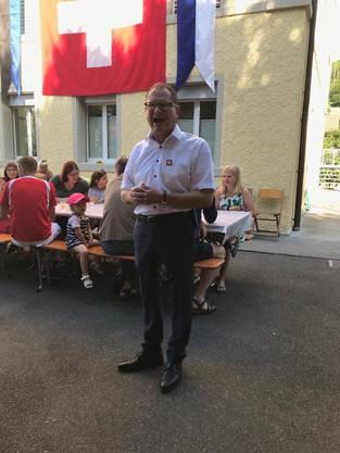 Gemeindeammann Rolf Jäggi
