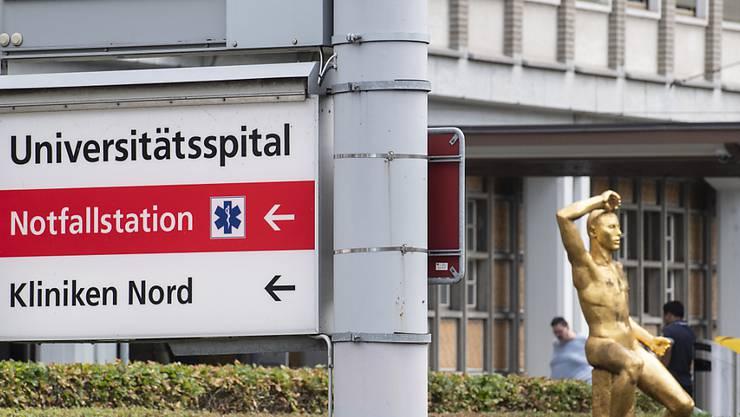 Zürcher Universitätsspital wieder gut ausgelastet – mittlerweile liegt die Auslastung bei rund 80 Prozent. (Archivbild)