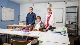 Peter Sax, Chantal Corbat und Dorothea Balissat von der Privatschule Forum 44: «Wir wollen die öffentliche Schule keineswegs konkurrenzieren.»