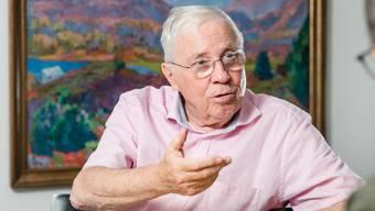 Unternehmer, SVP-Doyen und Alt-Bundesrat: Christoph Blochers Familie gehört gemäss «Bilanz» zu den zehn reichsten der Schweiz.