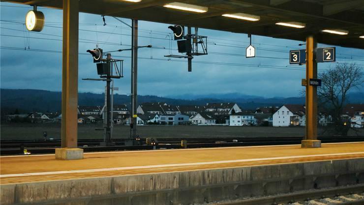 Möhlin und Rheinfelden bewerben sich mit einem Areal beim Bahnhof Möhlin.