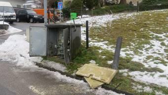 Verkehrsunfall in Strengelbach