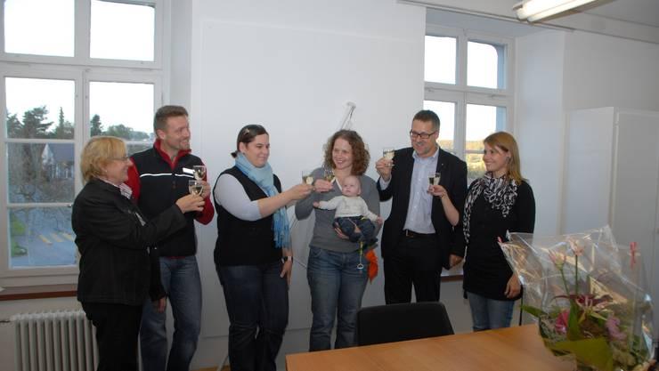 Mit Denise Alig feiert die Gemeinde Endingen ihre 2000. Einwohnerin.