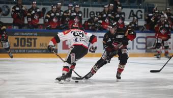 Der EHC Basel überrollt Chur zuhause mit 7:0.