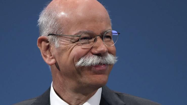 Daimler-Chef Dieter Zetsche an der Generalversammlung im April. Zetsche ist in den USA verklagt worden. (Archivbild)