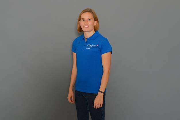 Elena Kratter baut ihre Prothese als Orthopädietechnikerin selber.