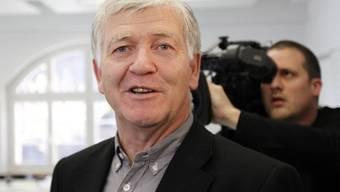 Alt Ständerat Bruno Frick (CVP) bangt um seine Berufung in den Finma-Verwaltungsrat. (Archiv)
