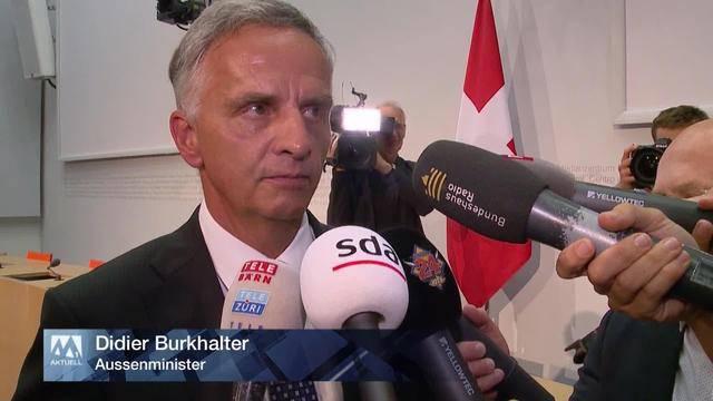 Plötzlicher Rücktritt von Didier Burkhalter