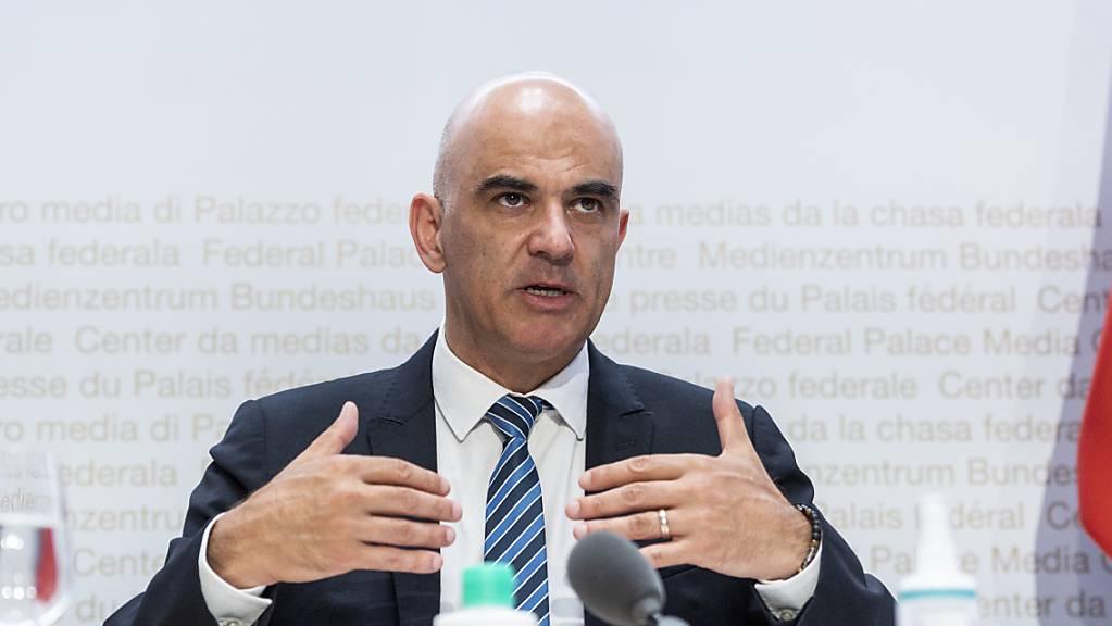 Laut Bundesrat Alain Berset wird die Schweiz eine vierte Corona-Welle nicht verhindern können.