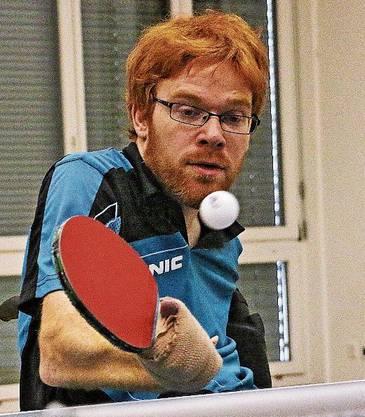 Wird geehrt: Para-Tischtennis-Spieler Silvio Keller.