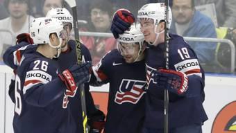 Mark Arcobello erzielte den Gamewinner für die USA gegen Russland