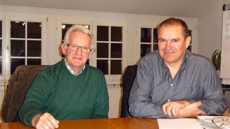 Peter Daniel (links) und Herbert Weiss.