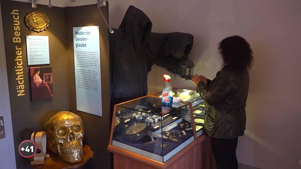 Die Hexe im Hexenmuseum