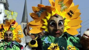 Prächtige Masken in Luzern