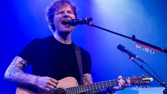 Ed Sheeran eröffnete das Blue Balls-Festival