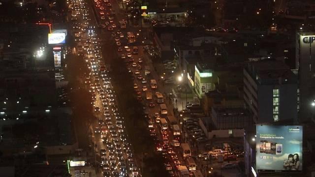 Verkehrschaos in Lima (Symbolbild)