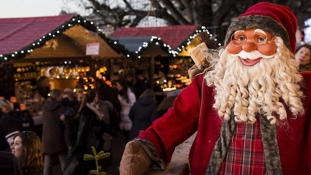 Kleinerer Weihnachtsmarkt in Montreux wegen Corona-Pandemie