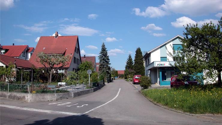 Einfahrt Gartenstrasse: Der Gemeinderat will keine Verkehrsverlagerung in die Quartiere. zvg