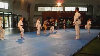 Taekwondo-Training für Kinder in Basler Markthalle
