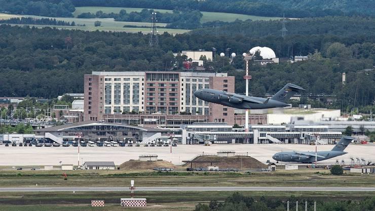 Der US-Luftwaffenstützpunkt Ramstein.