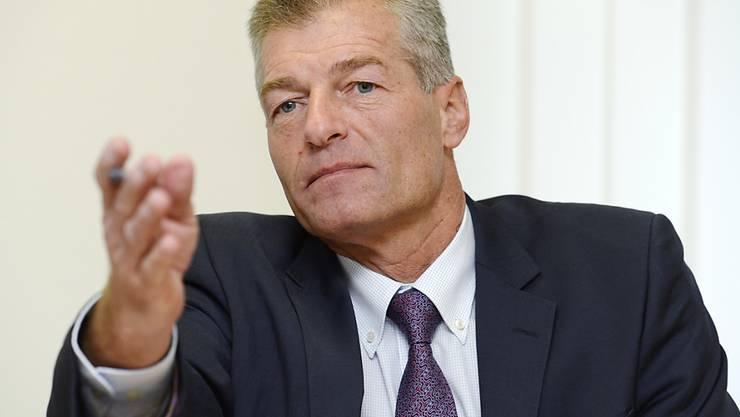 """""""Der Bundesrat muss sich neu orientieren"""": Heinz Karrer, Präsident des Wirtschaftsdachverbands Economiesuisse. (Archivbild)"""