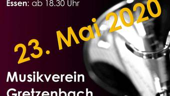 Wegen dem Corona-Virus wurde das Konzert auf den 23. Mai 2020 verschoben