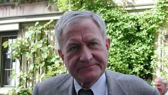 Martin Haas war ehemaliger Stadtpräsident in Winterthur. (Bild am  4. Juli 2001 aufgenommen)