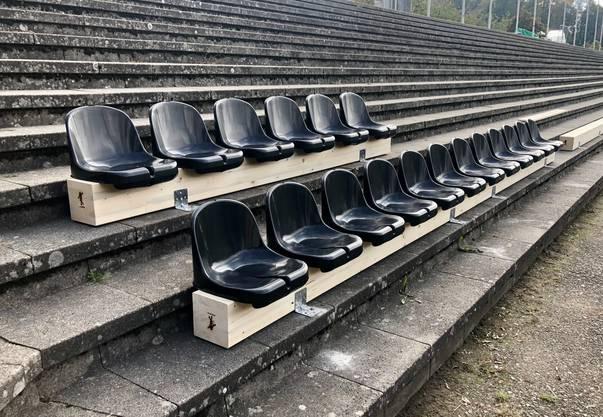 So ungefähr werden Matchbesucher das Brügglifeld ab dem Heimspiel gegen Xamax am 24. Oktober antreffen