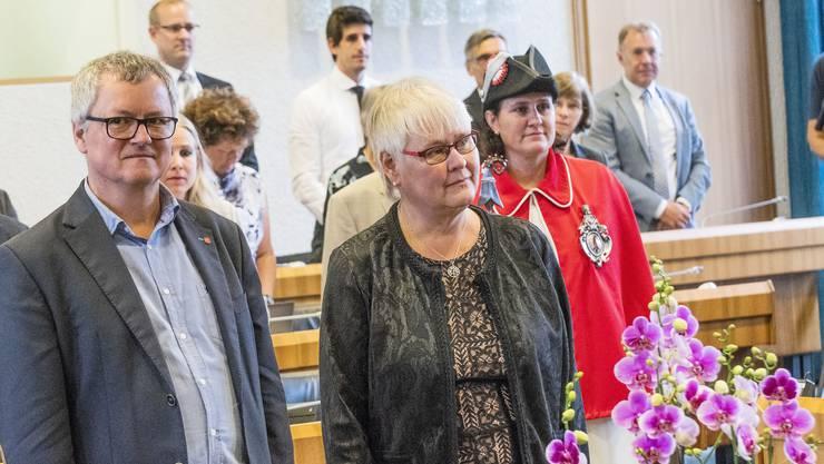 Priska Jaberg wurde erst im Sommer 2018 als Nachrückende für Elisabeth Augstburger angelobt. Nun ist sie bereits wieder abgewählt.