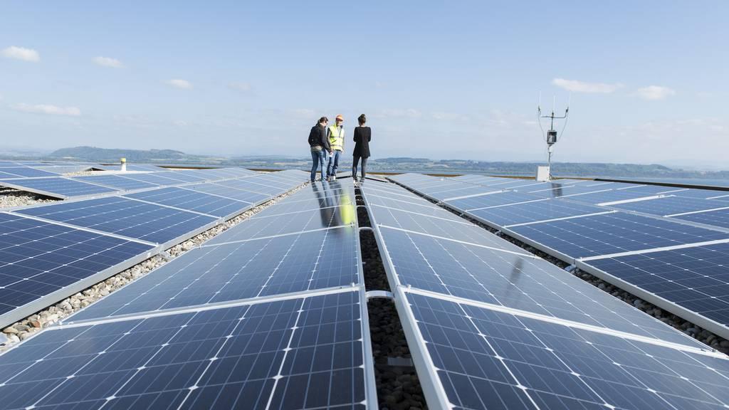 Solarstromanlage Aarau