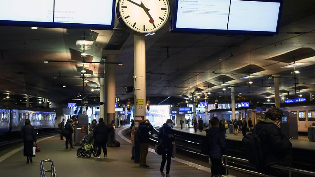 Das SwissPass-Login der SBB funktionierte am Donnerstagvormittag nicht. (Symbolbild)
