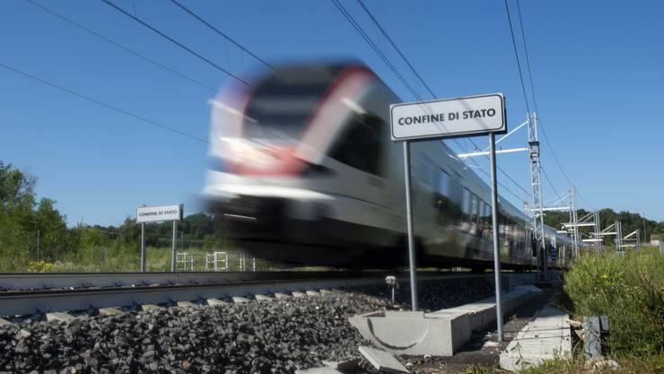 Keine Zugverbidnungen mehr zwischen der Schweiz und Italien. Das ordneten die italienischen Behörden an.
