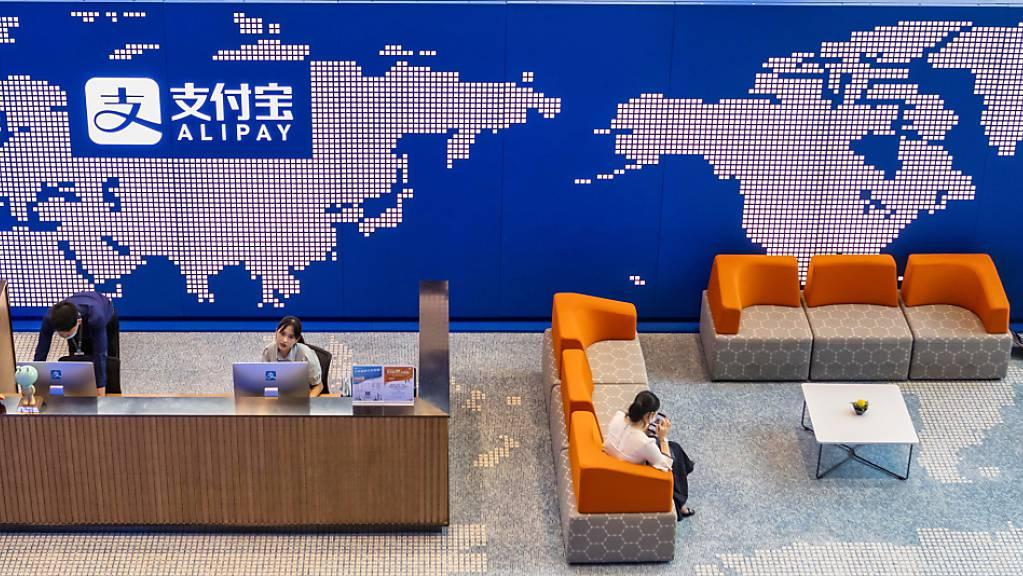 Alibaba-Ableger Ant peilt Rekord-Börsengang von 34,5 Milliarden Dollar an. (Archiv)