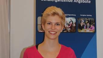 Cornelia Müller erteilt seit zwei Jahren Nachhilfe und Hausaufgabenhilfe in einer Schule im Niederamt.