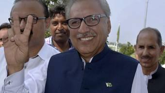 Der 69-jährige Arif Alvi ist neuer Präsident von Pakistan.