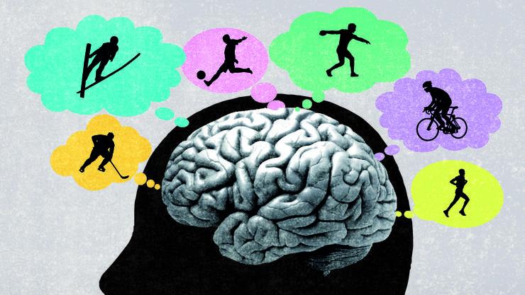 Bei dieser Leistungsdichte im Sport entscheidet am Schluss meistens der Kopf.