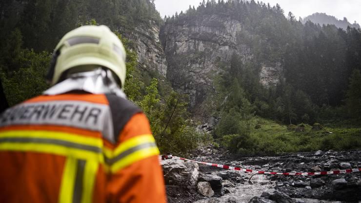 Das Canyoning-Unglück ereignete sich am 12. August im Parlitobel oberhalb von Vättis. Ein Opfer wird noch immer vermisst.