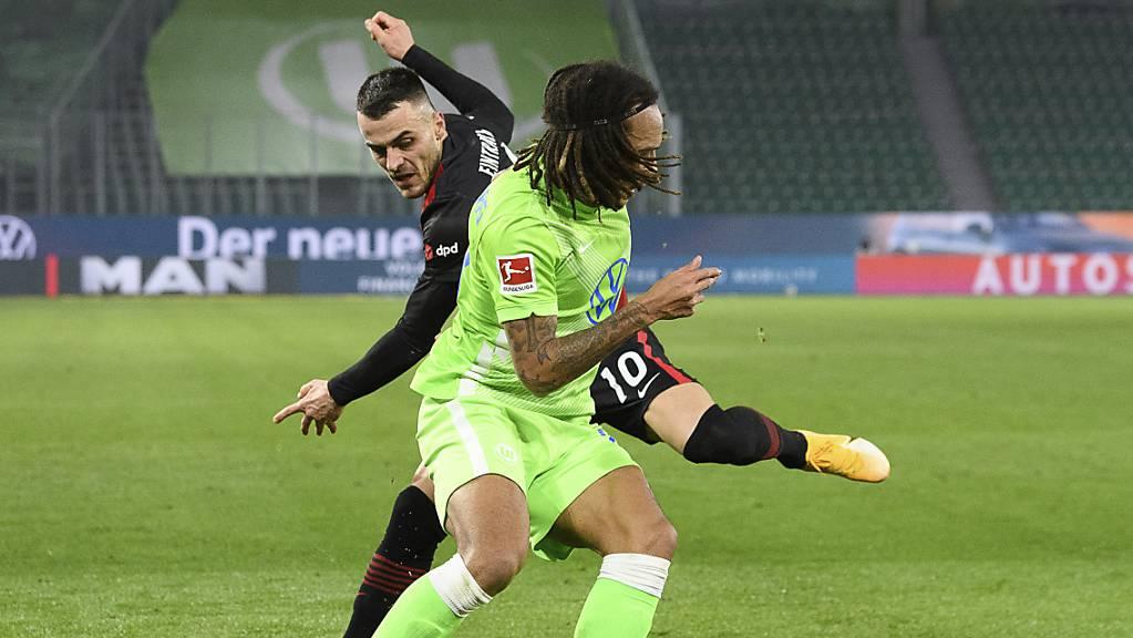 Kevin Mbabu bestritt sein erstes Spiel in dieser Saison für den VfL Wolfsburg