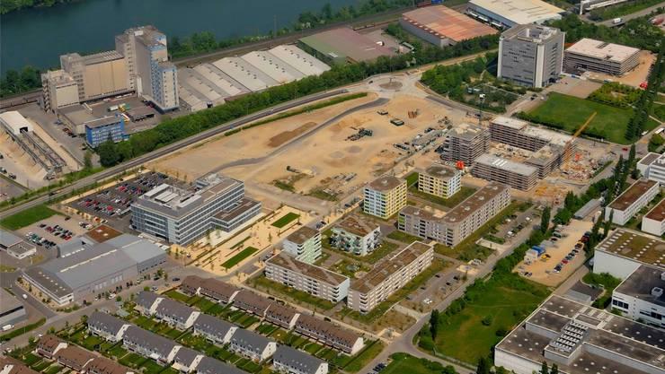Der erste Teil der Überbauung Römerpark ist mittlerweile fertiggestellt. Nun soll sie auf der freien Fläche erweitert werden.
