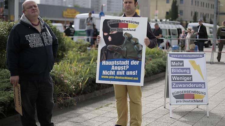 Ausländerfeindliche Einstellungen greifen in Deutschland immer stärker um sich. (Symbolbild)