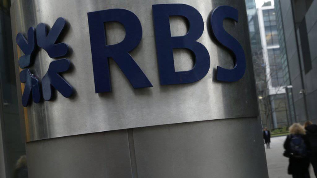 Nach zehn Jahren erstmals schwarze Zahlen: Die RBS erzielte 2017 unter dem Strich 752 Millionen Pfund (980 Millionen Franken).