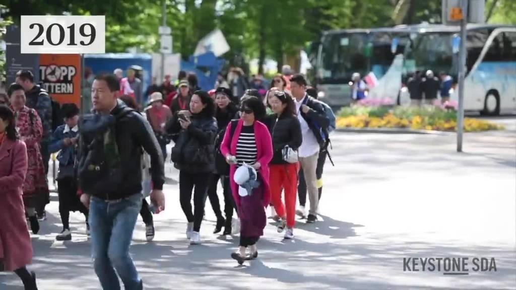 Keine Asiaten wegen Coronavirus - kaum Touristen in Luzern