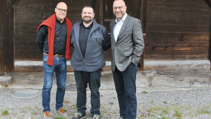v.l. Tobias Maurer, Vito Lupoli, Dani Bachmann