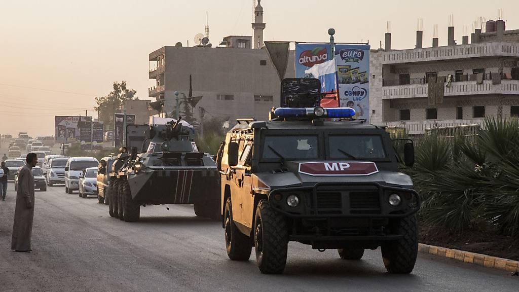 Russland schickt 300 Militärpolizisten nach Nordsyrien